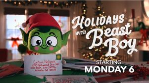 Holidays with beast boy staring monday 6
