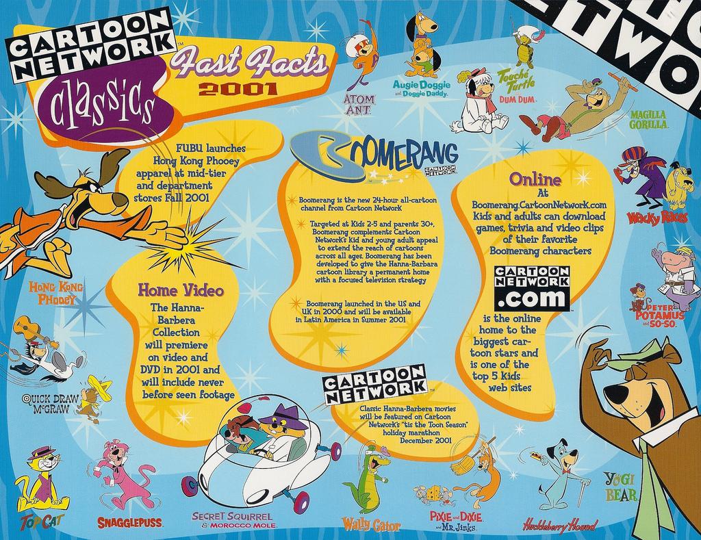 Boomerang The Cartoon Network Wiki Fandom