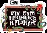 Logo - Mi compañero de clase es un mono