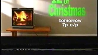 Old Cartoon Network- Old 12 Days of Christmas commercial