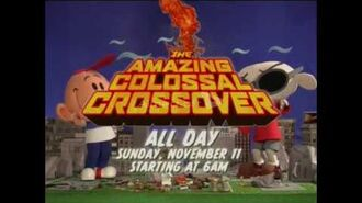 Cartoon Network THE AMAZING COLOSSAL CROSSOVER Promo