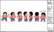 Steven modelsheet