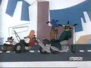 Cartoon Network Airing Wheelie and the Chopper Bunch (2001)
