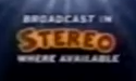 Broadcast in Stereo, Where Available bug