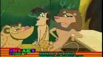 "Cartoon Network ""George of the Jungle"" Sneak Peek 1"