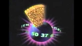 Greatest Cartoon Countdown promo