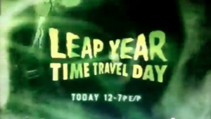 Leap Year Time Travel Day