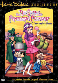 Perils of Penelope Pitstop DVD
