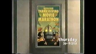 Cartoon Network 2004 Rebrand Cartoon Theatre Segment Thanksgiving Movie Marathon Promo-0