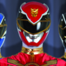 Megaforce Vermelho (Power Rangers - Megaforce)