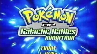 Pokemon DP Galactic Battles Marathon - Cartoon Network - Promo- 2009