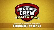 Cartoon Network - Incredible Crew - New Year's Eve Stunt Promo and Packaging