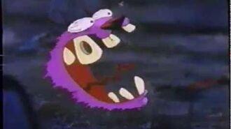 "Cartoon Cartoon Fridays ""Scaretoon Scaretoon Fright Days - Zombie Island, Courage, &..."" TV Ad- 2002"