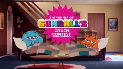 The Amazing World of Gumball Couch Contest Winner! Cartoon Network