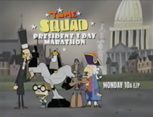 Time Squad Presidents Day Marathon