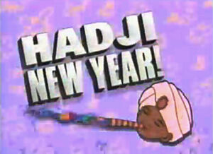 Hadji New Year! Logo