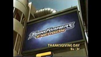 Cartoon Network Promo - Transformers Energon Thanksgiving Day Marathon