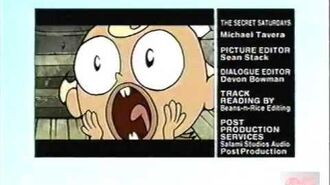 The Best Of 09 Promo Over The Secret Saturdays Credits - 2009 - Cartoon Network
