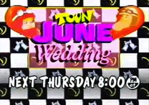 Toon June Wedding Logo
