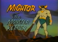 Mighty Mightor Title Card