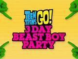 Teen Titans Go! 3-Day Beast Boy Party