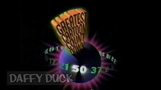 Cartoon Network- Greatest Cartoon Countdown Promo