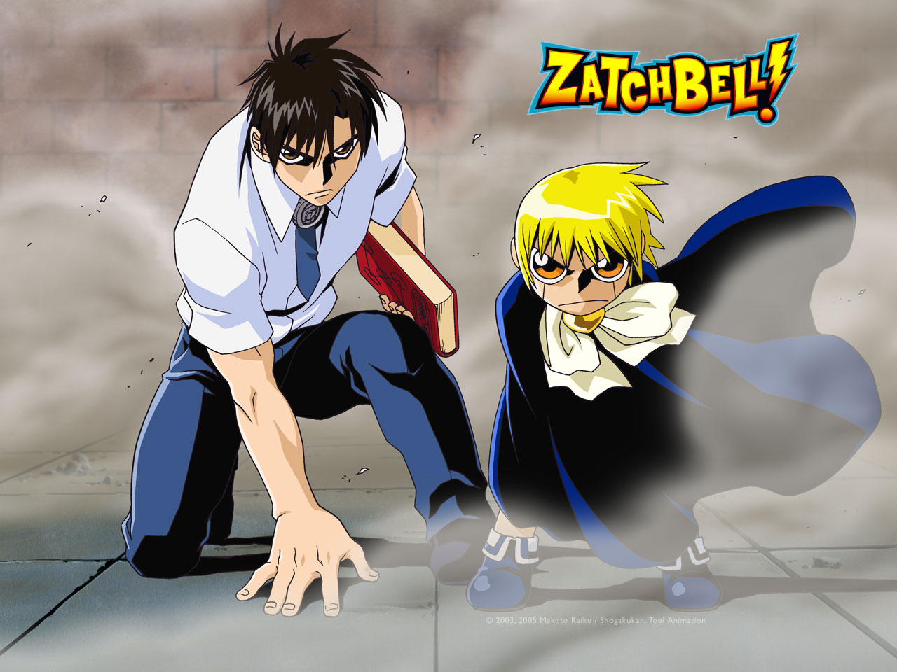 Anime Tv Zatch Bell