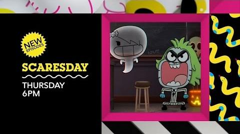 Cartoon Network - Scaresday Promo (60s) - October 27, 2016