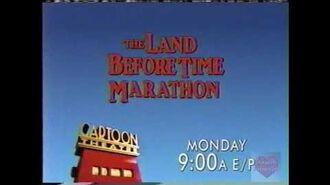 The Land Before Time Marathon on Cartoon Theatre - Cartoon Network - Bumper - 2000