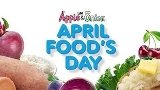 Cartoon Network - Apple & Onion - April Food's Day Marathon Promo (April 1, 2020)