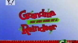 Cartoon Network December 2007 It's Grandma & The Grinch All Star Naughty List Tonight at 8 & 9 pm