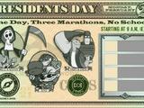 President's Day Marathon