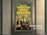 Cartoon Theatre: Thanksgiving Movie Marathon