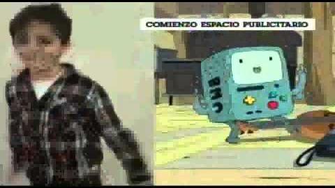 """Cartoon network LA """" CN Dicen CN Sayin'"""" Bumper 1 2015"""