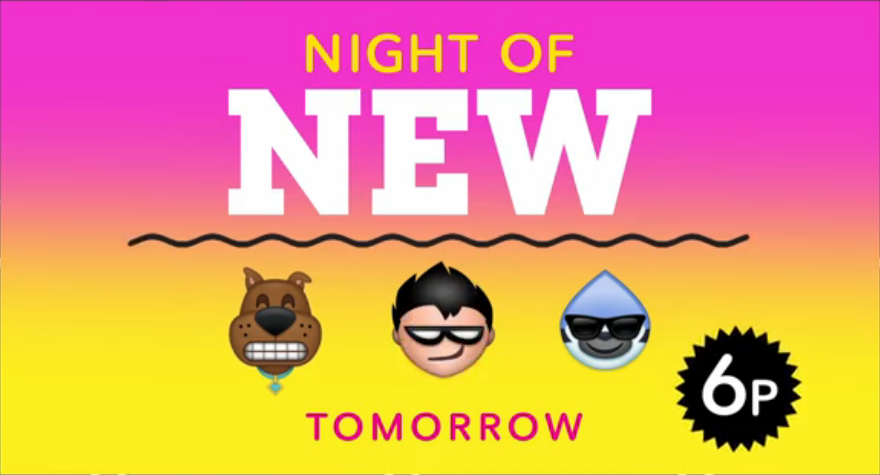 Night Of New Is A Special Cartoon Network Programming Block That Aired On Wednesday November 25 2015 Day Before Thanksgiving From 600pm To 900pm
