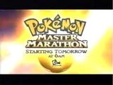 Pokemon Master Marathon