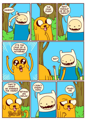 Adventure time comic page 13-1-