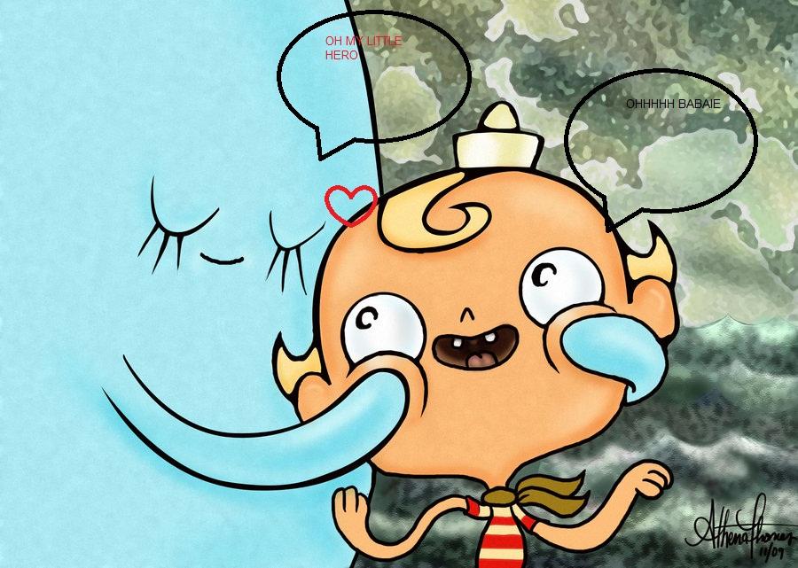 Flapjack Loves Bubbie by athenatt-1-