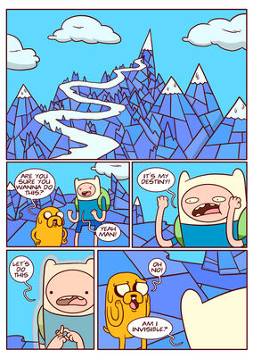 Adventure time comic page 7-1-