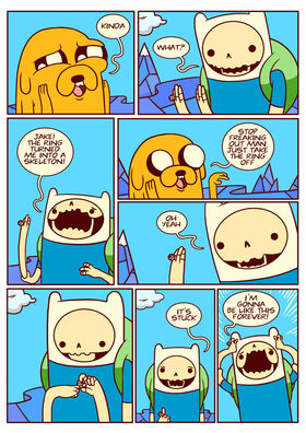 Adventure time comic page 8-1-