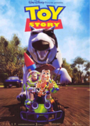Toy Story 1 Poster 14 - Chased by a Dog