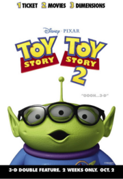 Toy Story 1 Poster 15 - Alien