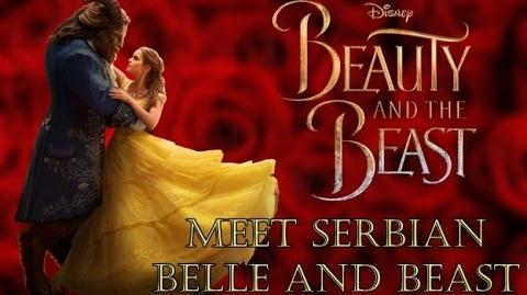 Beauty and the Beast 2017 Meet Serbian voices of Belle and Beast