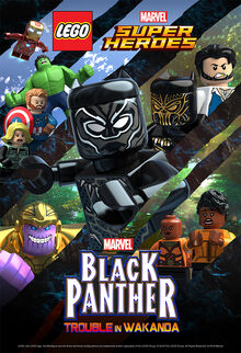 Lego Marvel superheroji - Crni Panter - nevolja u Vakandi