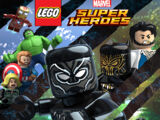 Лего Марвел суперхероји: Црни Пантер: Невоља у Ваканди