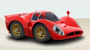 1967 Ferrari 412P