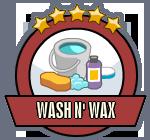 Joblogo washnwax