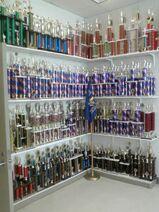 Corner of trophies