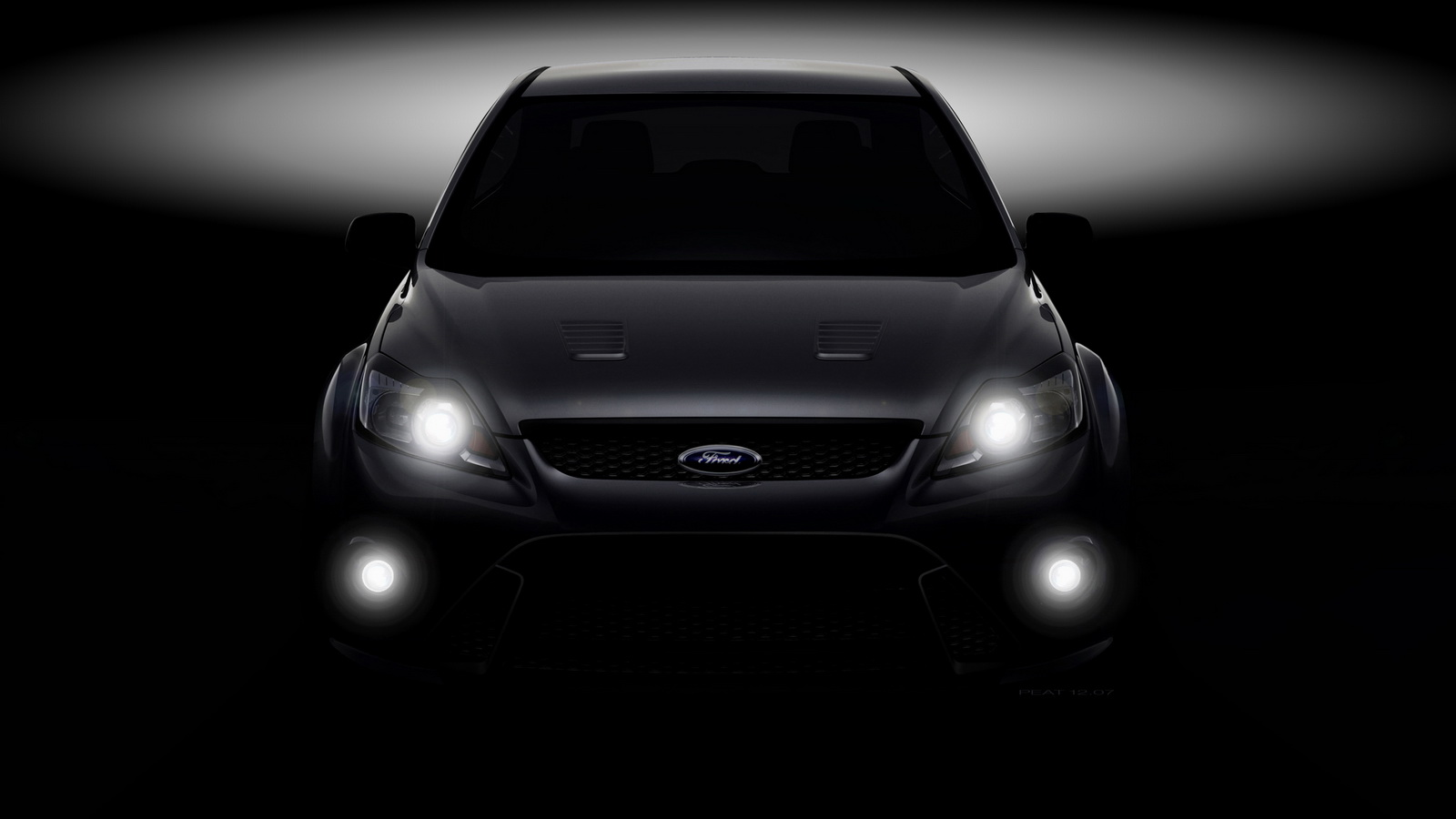 image - ford focus rs teaser-01 | the car wallpaper mania wiki