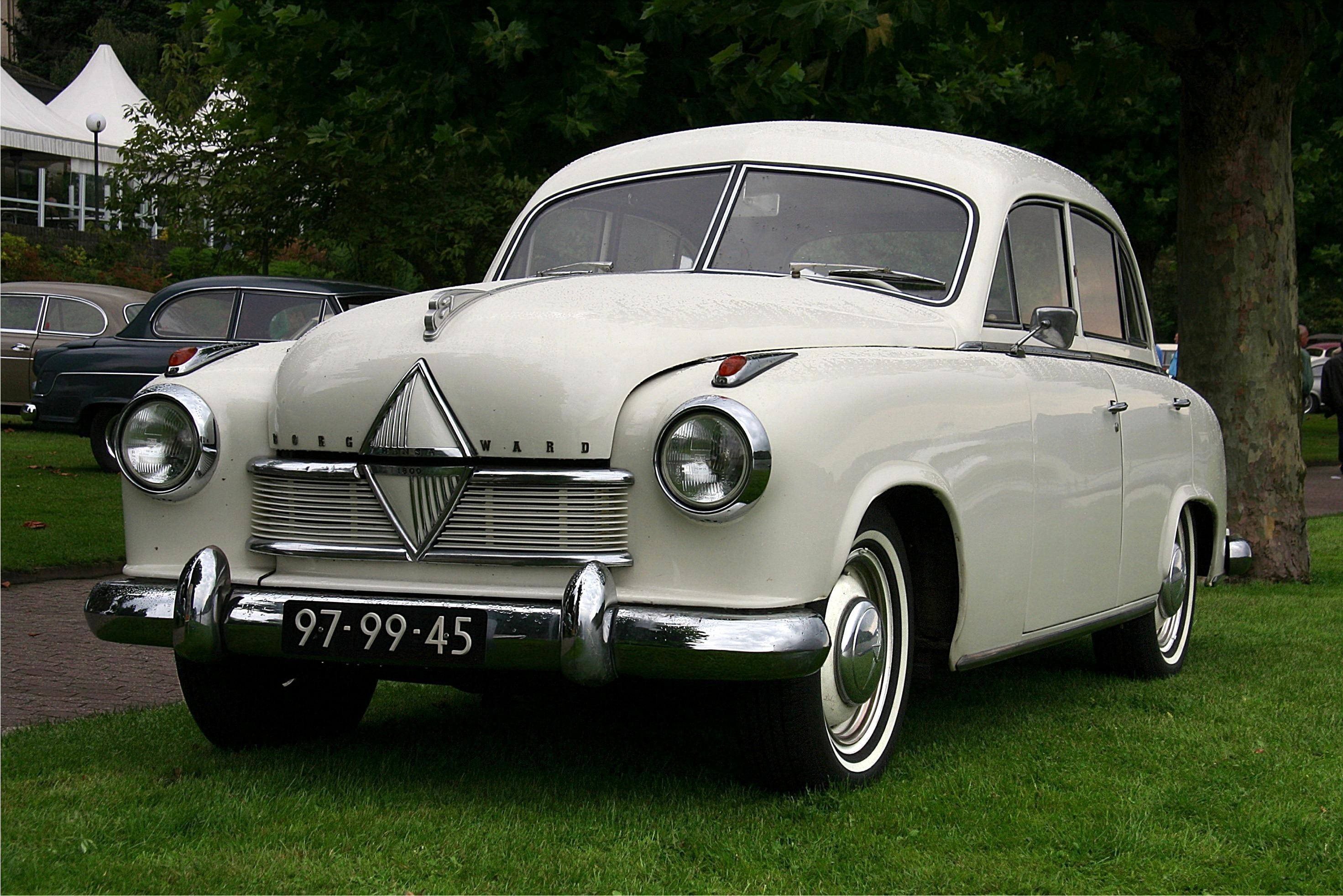 2007-09-08 2581 Borgward Hansa 1800 Front, Bauzeit 1952-1954 (ret2)-1-